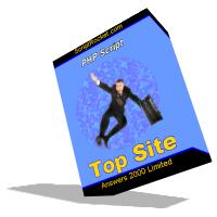 Top Site PHP Script